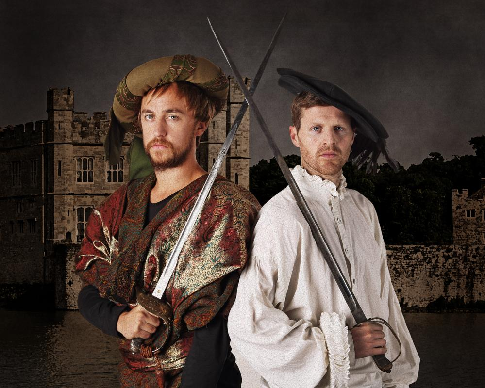 Portrait of Christopher Barrett & Luke Taylor by Julian Hanford