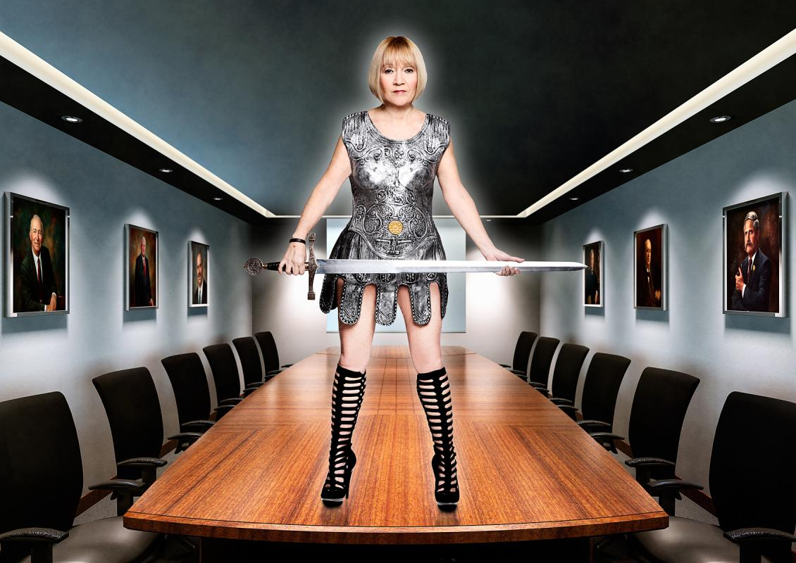 Portrait of Cindy Gallop by Julian Hanford