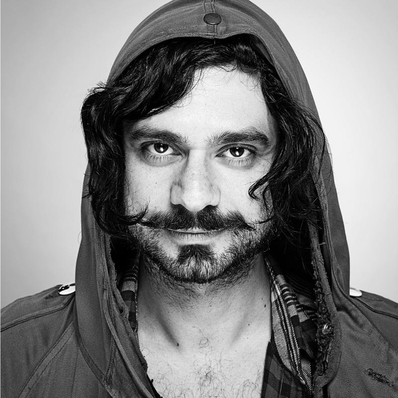 Portrait of Dan Fatel by Julian Hanford