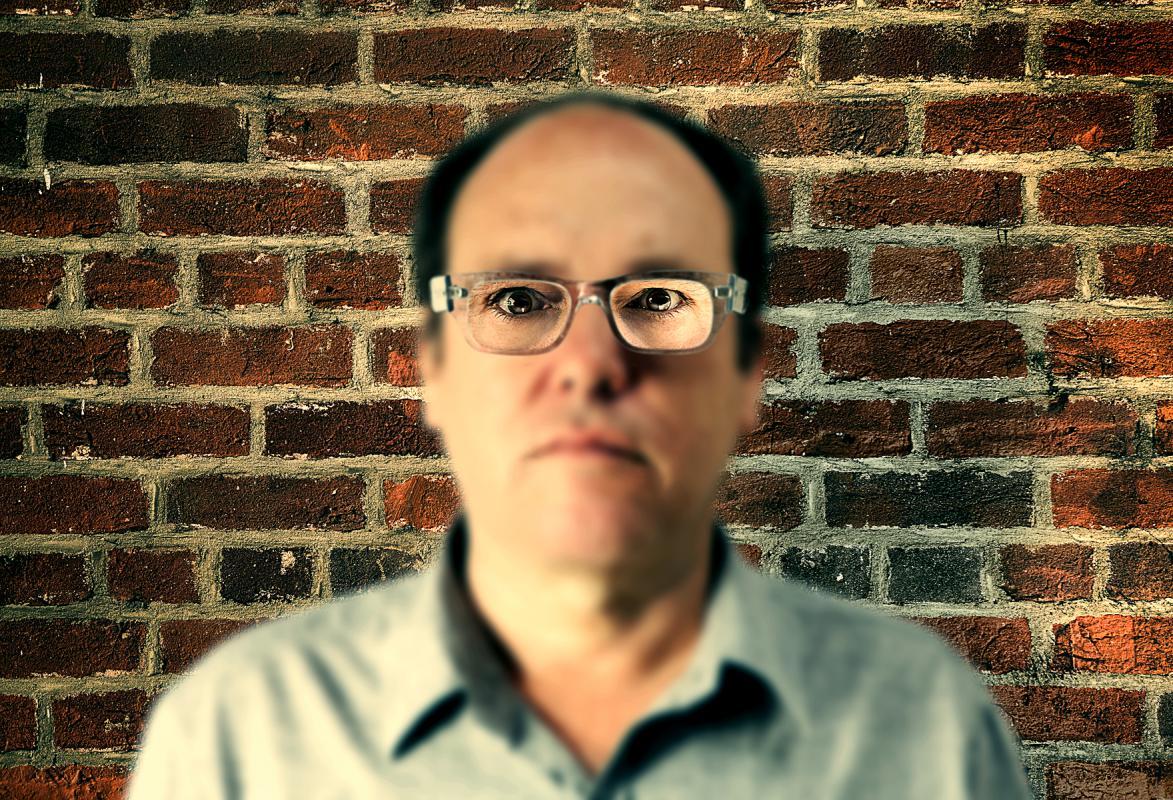 Portrait of Daniel Kleinman by Julian Hanford