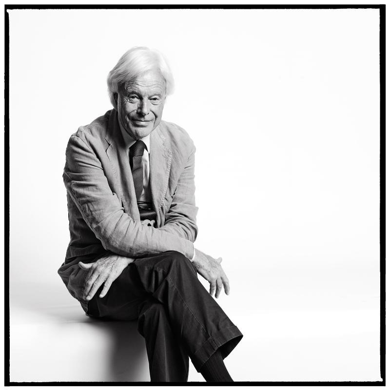 Portrait of David Abbott by Julian Hanford