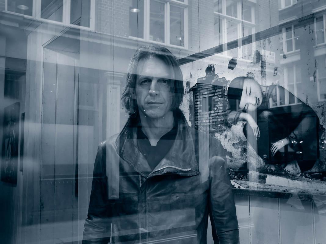 Portrait of Graham Fink by Julian Hanford