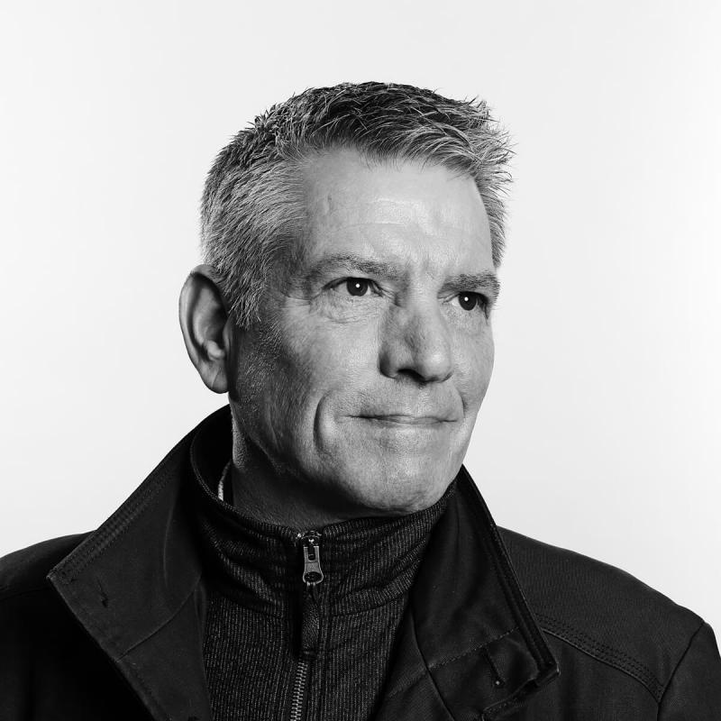 Portrait of Guy Moore by Julian Hanford