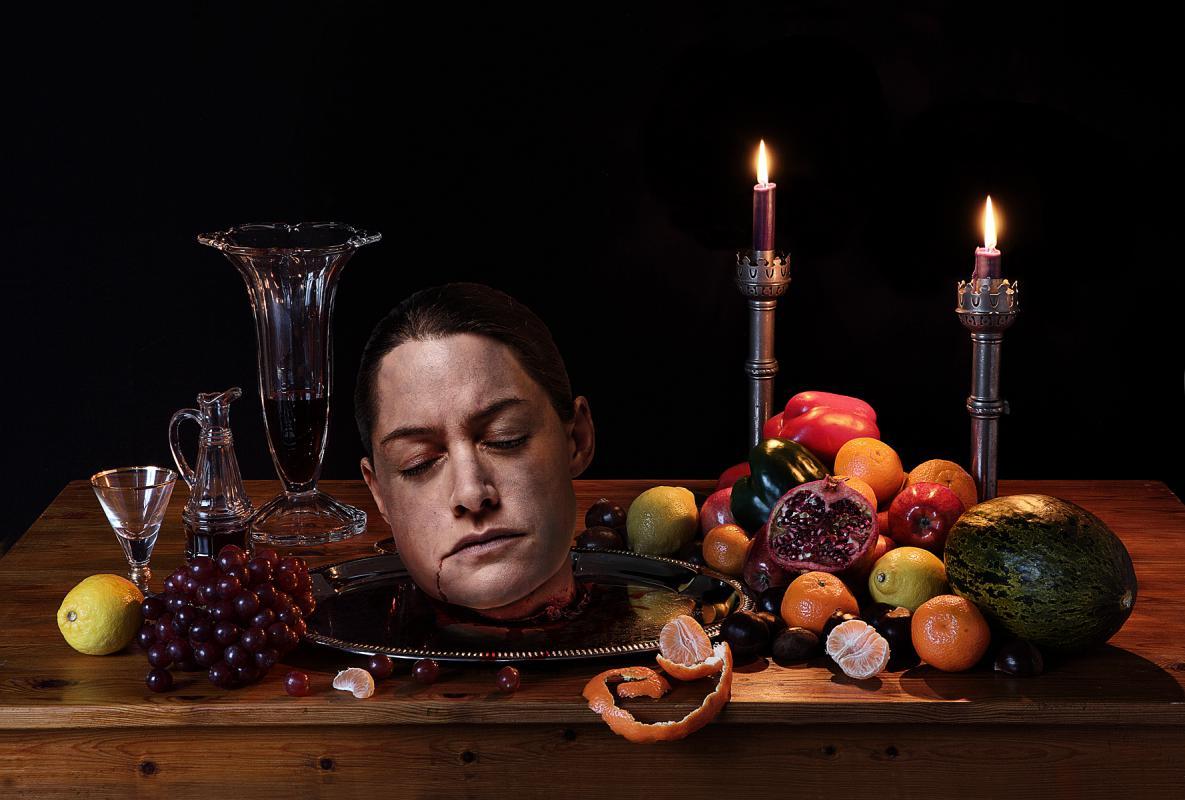 Portrait of Heidi Porter by Julian Hanford