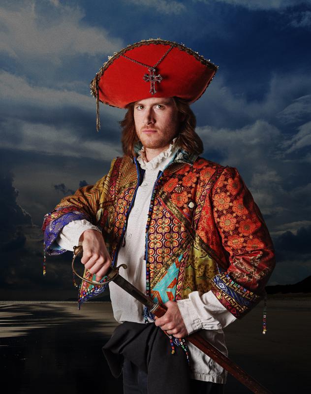 Portrait of Jack Whiteley by Julian Hanford