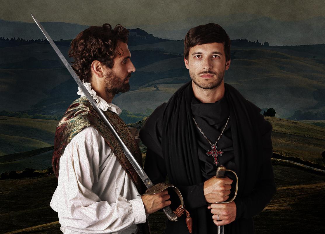 Portrait of Jonathan Cohen & Anthony Jorge by Julian Hanford