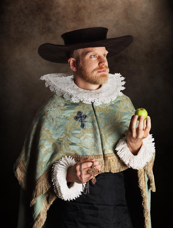Portrait of Juriann Boojj by Julian Hanford