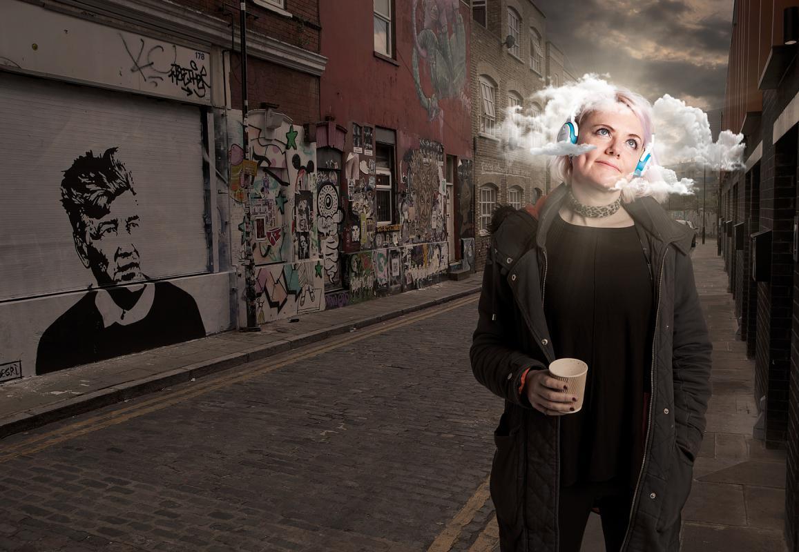 Portrait of Laura Jordan Bambach by Julian Hanford
