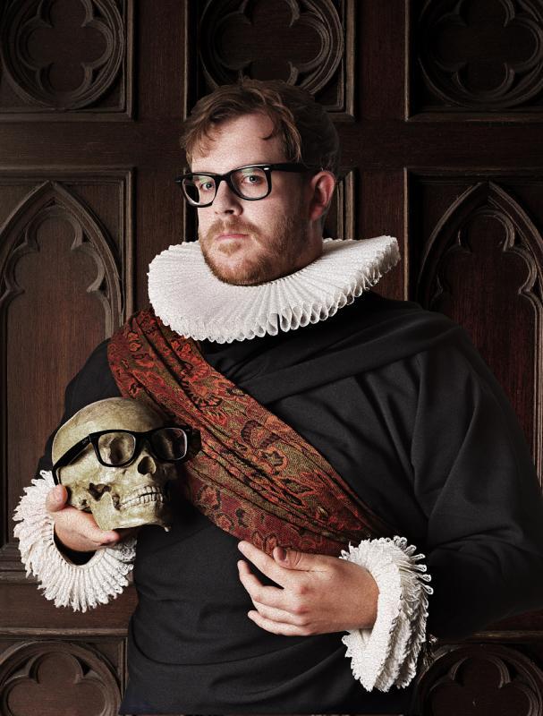 Portrait of Luke Bellis by Julian Hanford