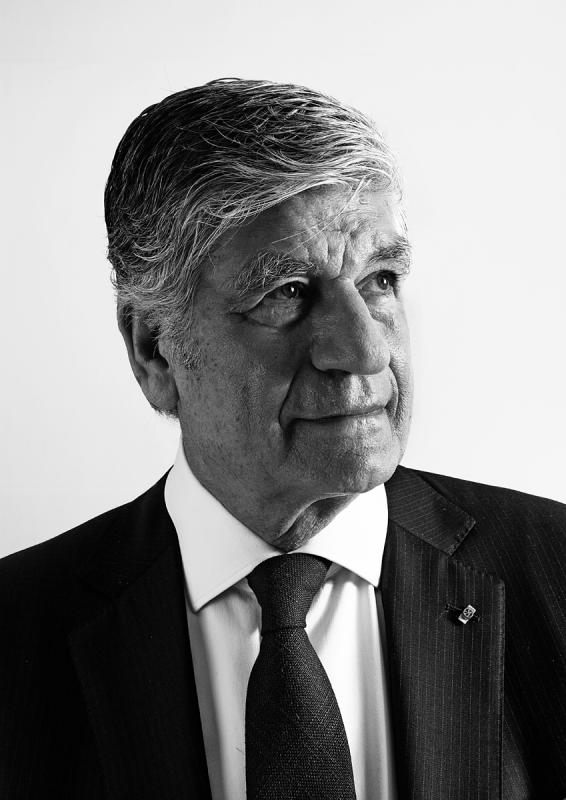 Portrait of Maurice Levy by Julian Hanford