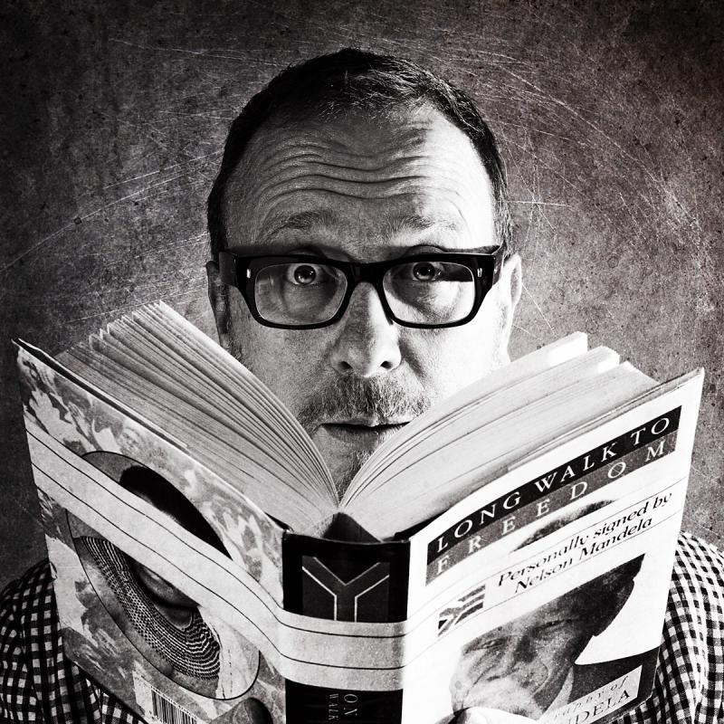 Portrait of Neil Dawson by Julian Hanford