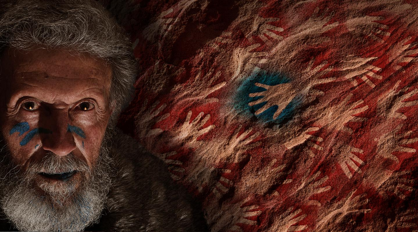 Portrait of Neil Godfrey by Julian Hanford