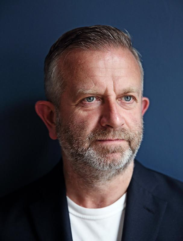 Portrait of Nick Gill by Julian Hanford