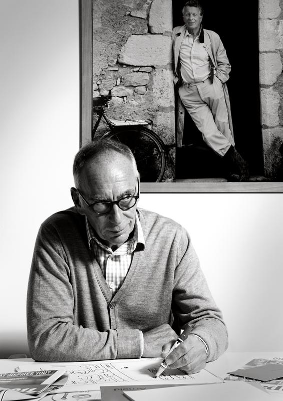 Portrait of Paul Smith by Julian Hanford