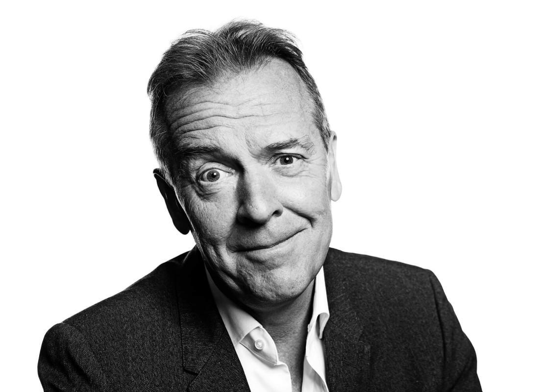 Portrait of Rod Banner by Julian Hanford