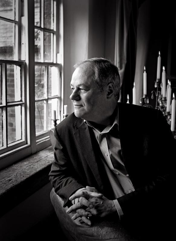 Portrait of Ronald Corp OBE by Julian Hanford