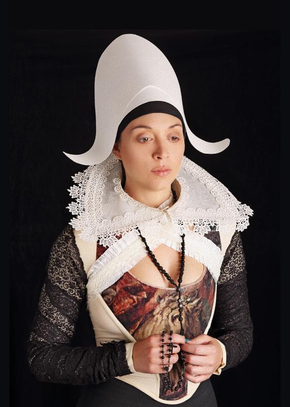 Portrait of Ruth Hogben by Julian Hanford