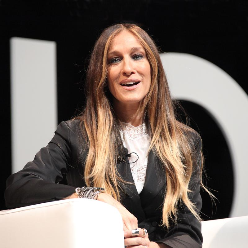 Portrait of Sarah Jessica Parker by Julian Hanford