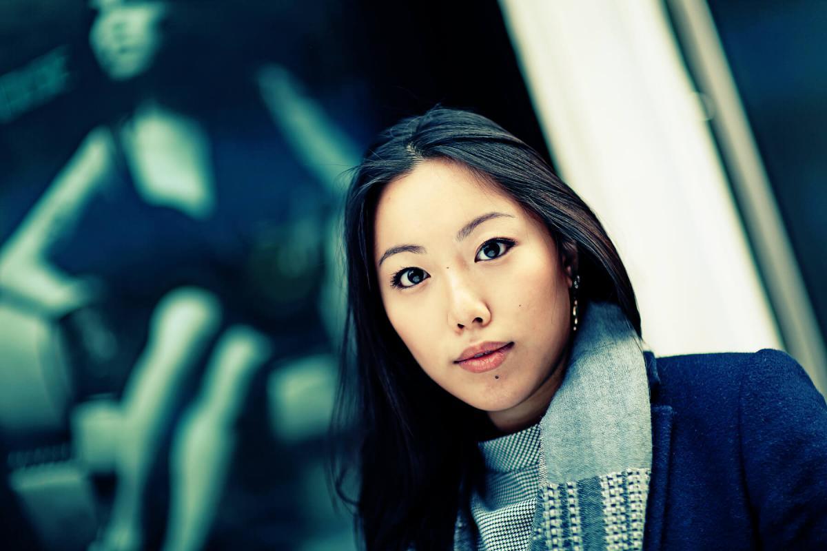 Portrait of Selina Chan by Julian Hanford