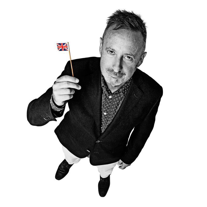 Portrait of Steve Davies by Julian Hanford